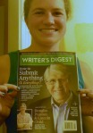Cropped Cover of Writer's Digest I am in